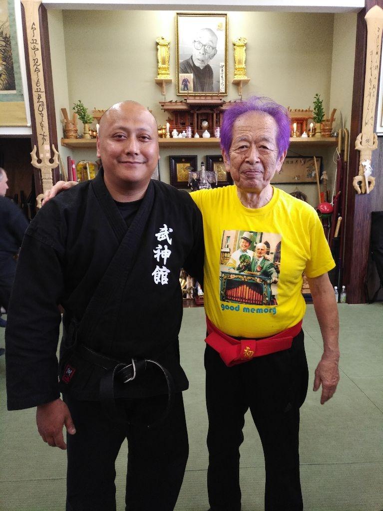 Fernando und Soke Masaaki Hatsumi