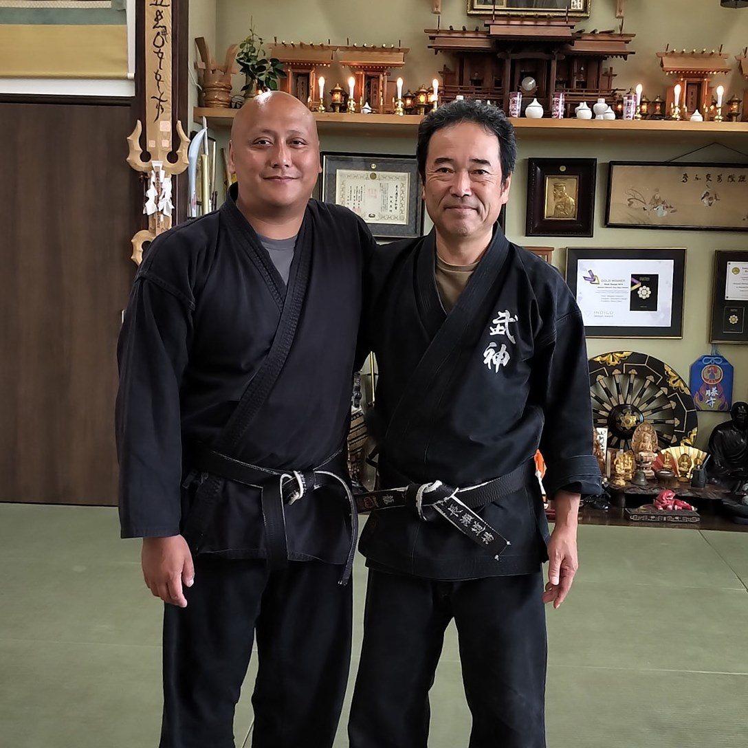 Fernando mit Nagase Sensei 2019
